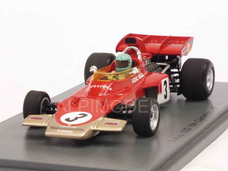 Lotus 72D #3 GP Canada 1971 Reine Wisell by spark-model