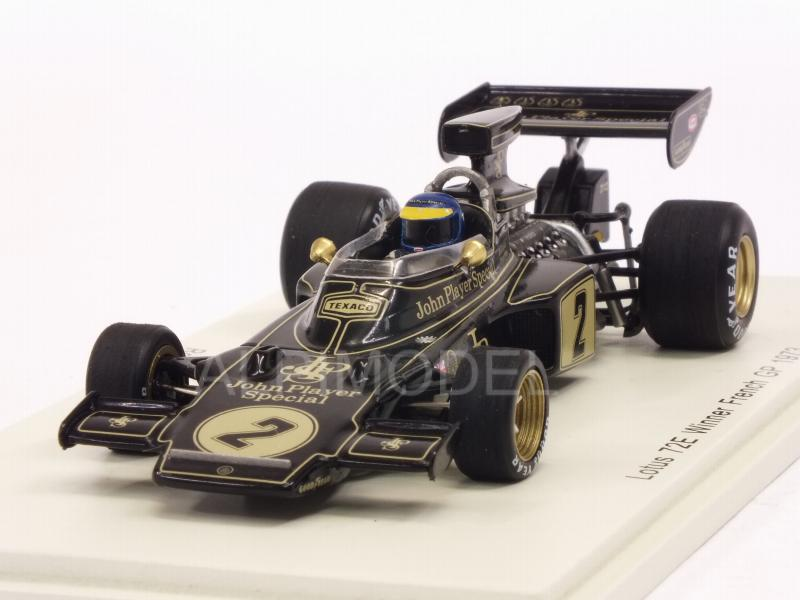 Lotus 72E #2 Winner GP France 1973 Ronnie Peterson by spark-model