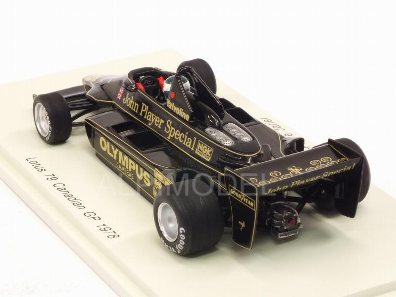 Lotus 79 #55 GP Canada 1978 Jean-Pierre Jarier - spark-model