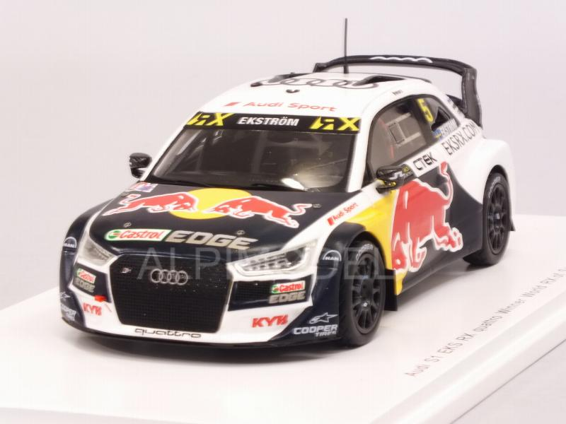 Audi S1 EKS RX Quattro #5 Winner WRX Spain 2018 Mattias Ekstrom by spark-model