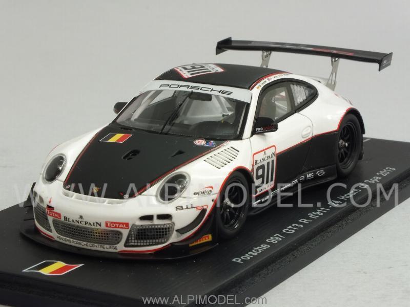 Porsche 911 GT3 R 997 Spa 2013 Hozler