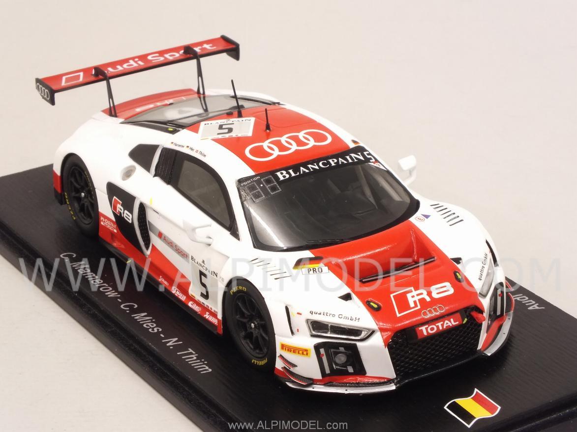 Spark Model Audi R8 Lms 5 24h Spa 2015 Mamerow Mies