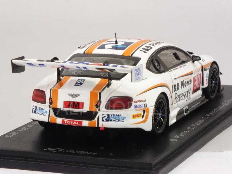 Bentley Continental GT3 #30 24h Spa 2016 Pierce - Harris - Rosenblad - Perel - spark-model