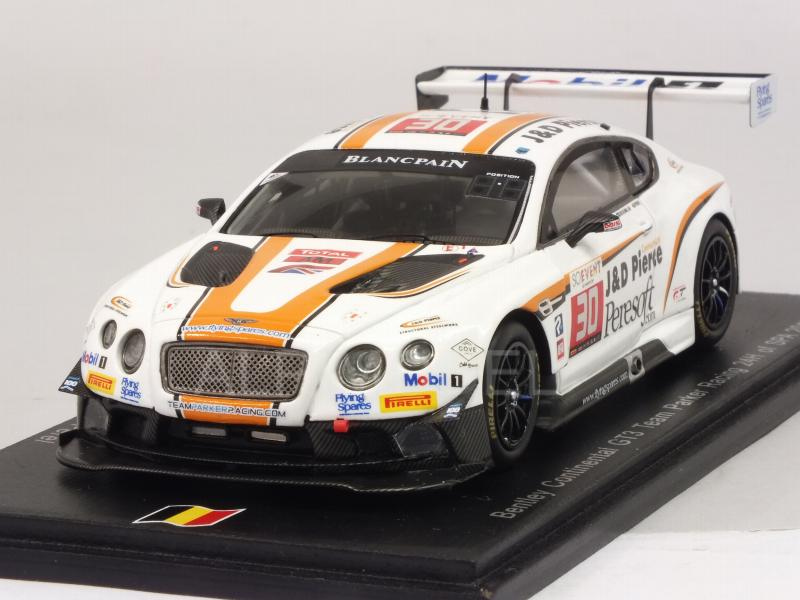 Bentley Continental GT3 #30 24h Spa 2016 Pierce - Harris - Rosenblad - Perel by spark-model