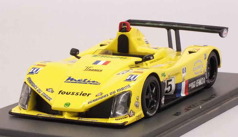 WR LM #25 Le Mans 2002 Daoudi - De Fournoux - Bouvet by spark-model