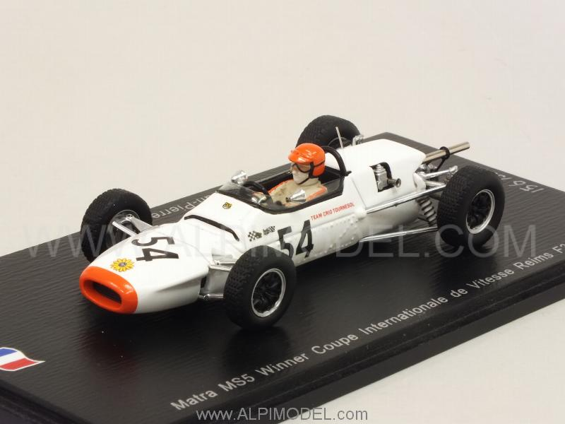 Matra MS5 #54 Winner Coupe Int.Vitesse Reims F3 1967 J.P.Jabouille by spark-model