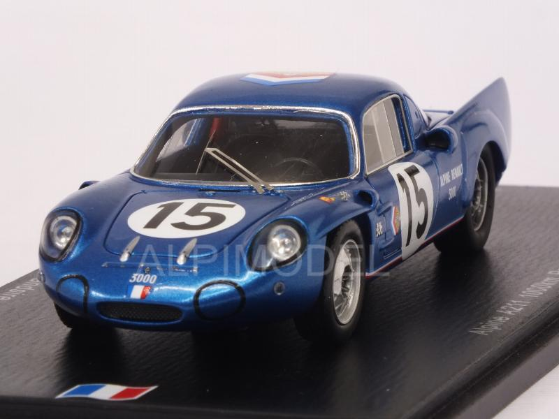 Alpine A211 #15 1000 Km de Paris 1967 Bianchi - Grandsire by spark-model