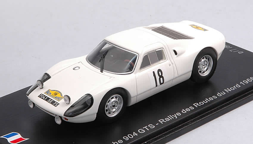 Porsche 904 GTS #18 Rally Routes du Nord 1966 Schlessler - Schlessler by spark-model