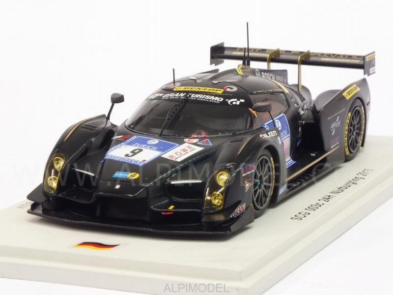 SCG Scuderia Cameron Glickenhaus 003c #9 24h Nurburgring 2015 Lauck - Franchitti - Jahn - Mailleux by spark-model