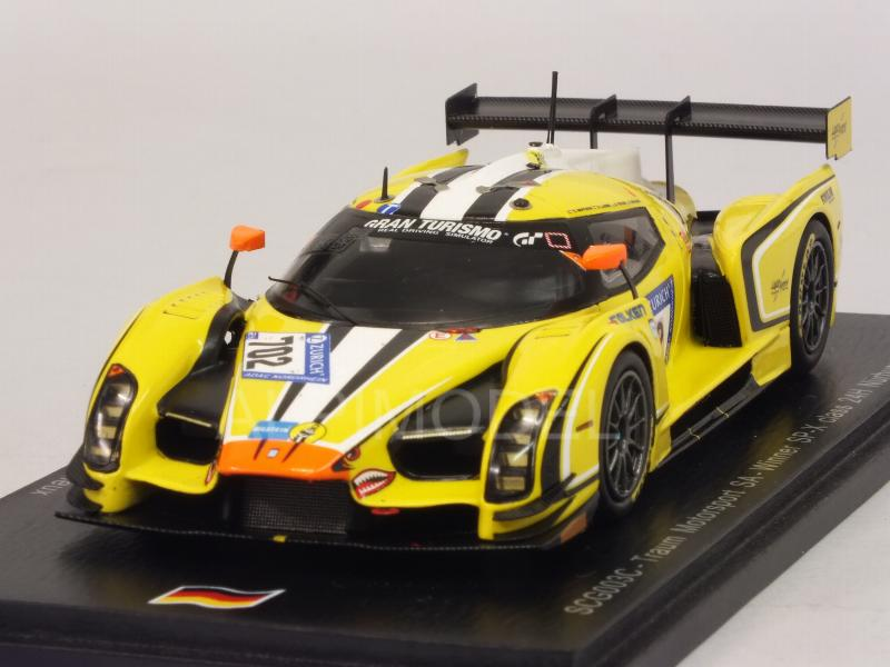 SCG 003C Traum Motorsport #131 Winner SP-X Class Nurburgring 2017 Mutsch - Piccini -Laser - Mailleux by spark-model