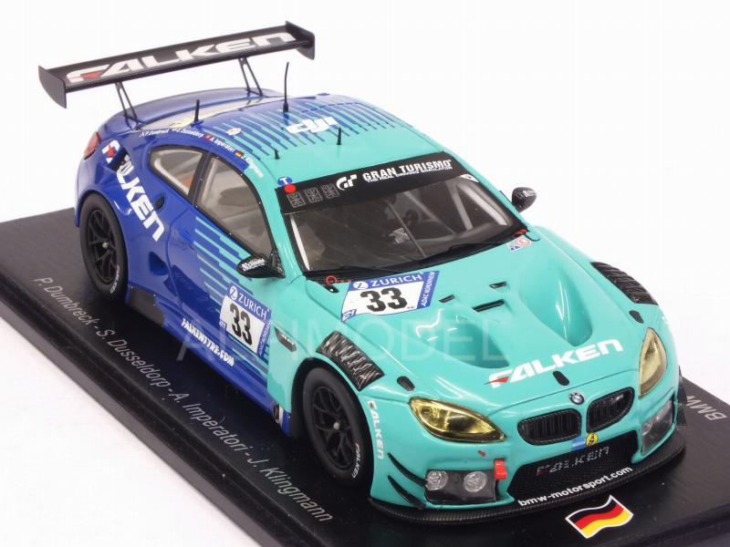 BMW M6 GT3 #33 Nurburgring 2018 Dumbreck - Imperatori - Dusseldorp - Kingmann - spark-model