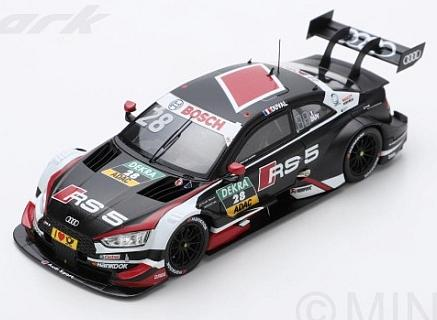 Audi RS5 #28 DTM 2018 Loic Duval by spark-model