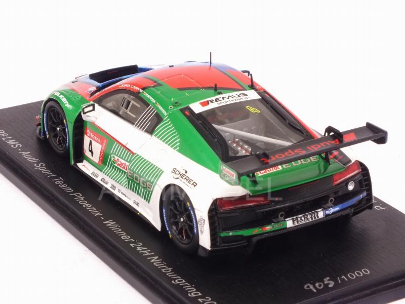 Audi R8 LMS  Winner 24h Nürburgring 2019  Kaffer Stippler Vanthoor  1:43 Spark