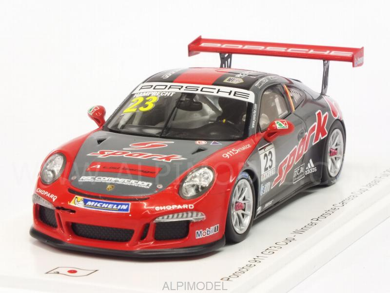 Porsche 911 GT3 Cup #23 Winner Carrera Cup Japan Fuji 2017 P.Hamprecht by spark-model
