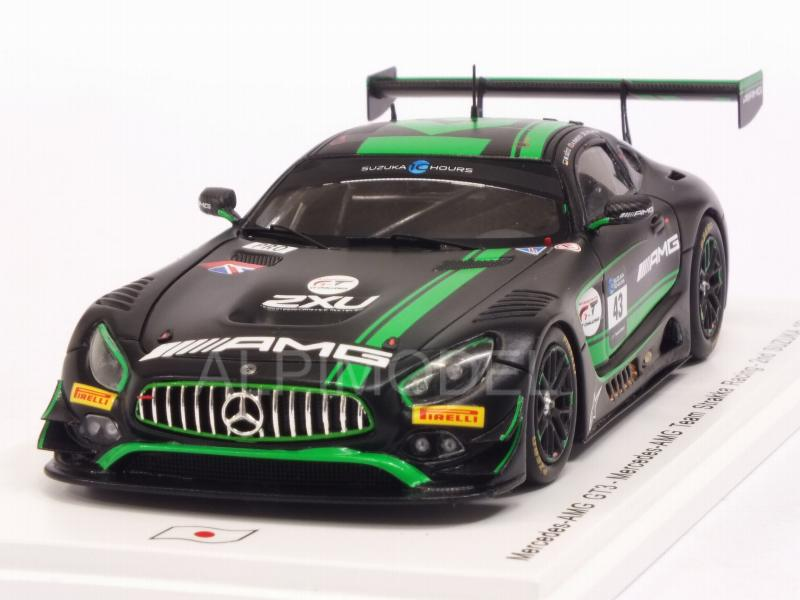 Mercedes AMG GT3 #43 Suzuka 2018 Williamson - Gotz - Parente by spark-model