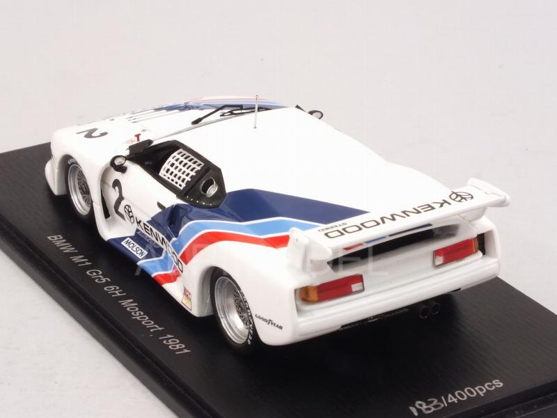 5-6h Mosport 1981 US043 Spark 1:43 Hobbs // Stuck BMW M1 Gr