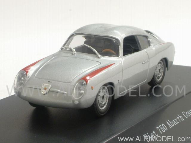 Fiat 750 Abarth Coupe 1956 (Silver) by starline