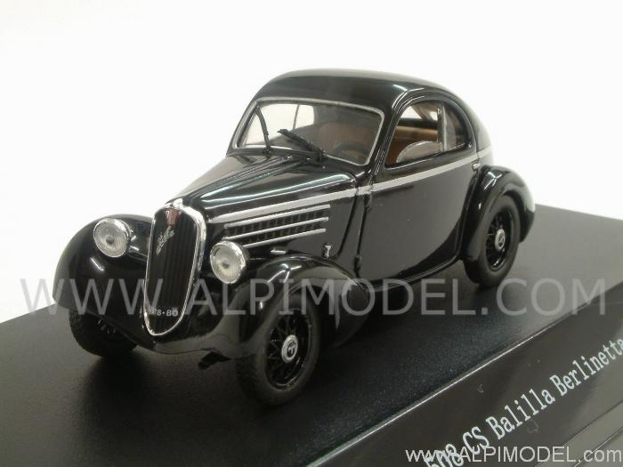 Fiat 508CS Balilla Berlinetta 1935 (Black) by starline