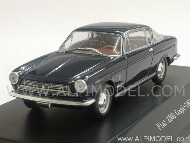 Fiat 2300 Coupe 1961 (Blu Notte) by starline