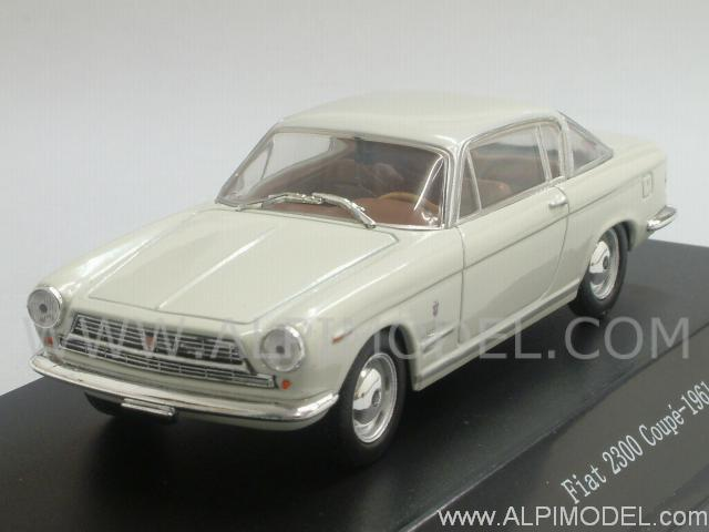 Fiat 2300 Coupe 1961 (White) by starline