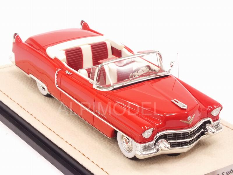 Cadillac 62 Convertible 1955 (Red) - stamp-models