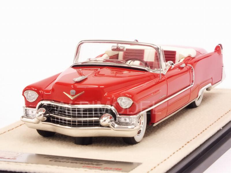 Cadillac 62 Convertible 1955 (Red) by stamp-models