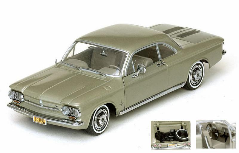 Chevrolet Corvair Coupe  1963 Autumn Gold by sunstar