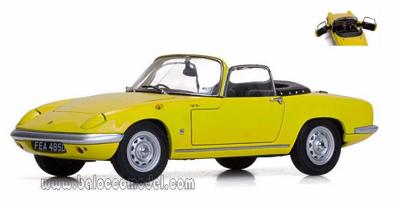 Lotus Elan S3 1966 Yellow by sunstar