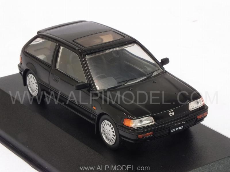 Honda Civic 1987 (Black) - triple-9-collection