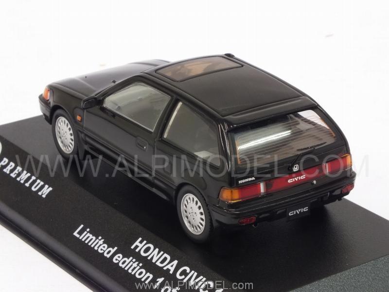 Honda Civic 1987 schwarz 1:43 Triple9 Premium