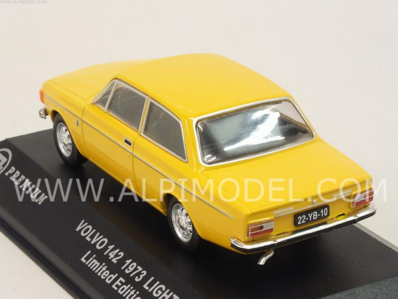 Volvo 142 1973 (Light Yellow) - triple-9-collection