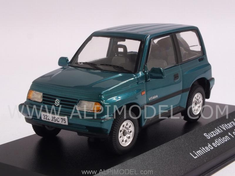 Suzuki Vitara 1992 (Metallic Green) by triple-9-collection