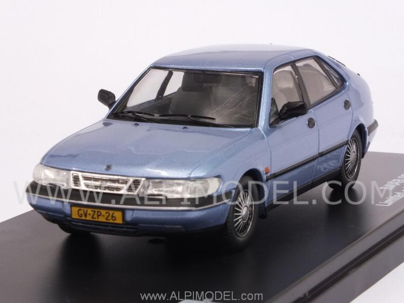 Saab 900 V6 1994 (Light Blue Metallic) by triple-9-collection
