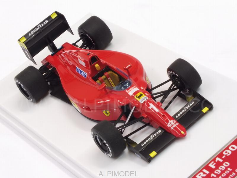 Ferrari F1-90 #1 Winner GP France 1990 Alain Prost (HQ Metal model) - tameo