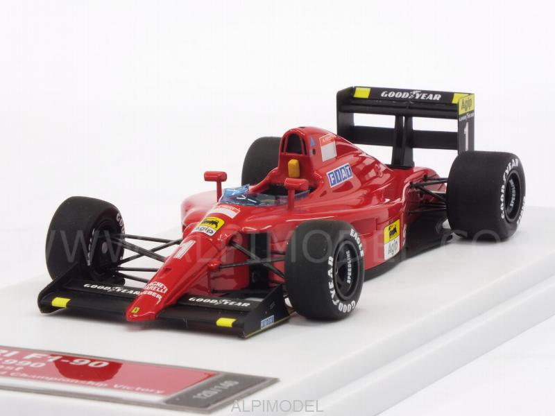 Ferrari F1-90 #1 Winner GP France 1990 Alain Prost (HQ Metal model) by tameo