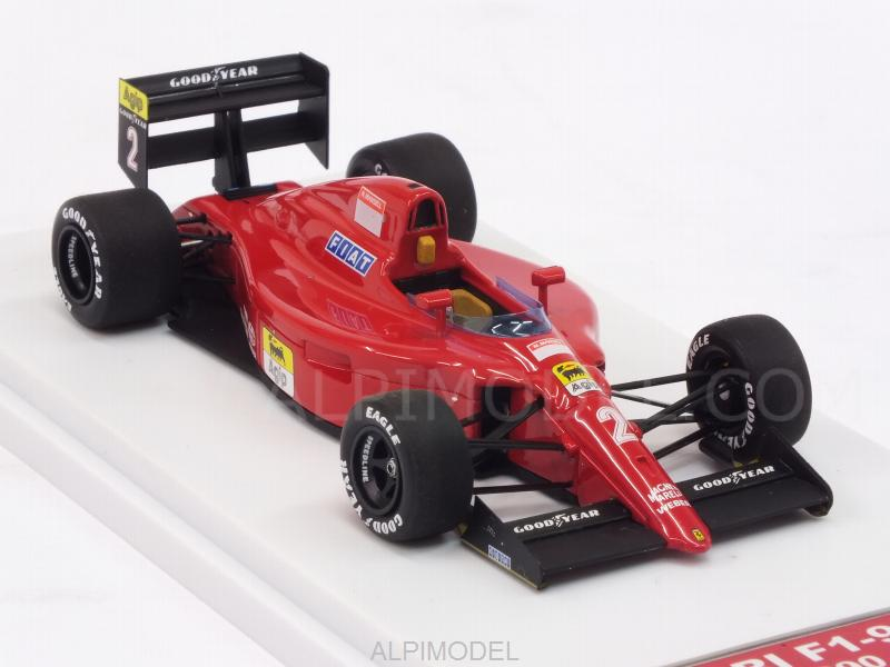 Ferrari F1-90 #2 GP France 1990 Nigel Mansell (HQ Metal model) - tameo