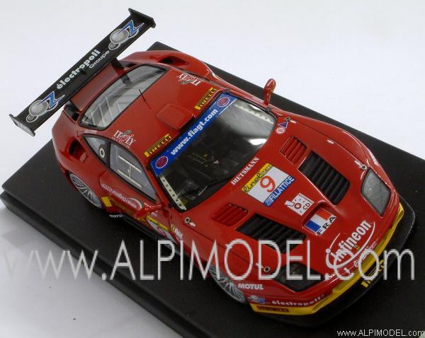 Tecnomodel Ferrari 575 Gtc Fia Gt Estoril 2003 9 Babini Peter 1
