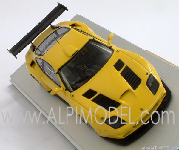 Tecnomodel Ferrari 575 Gtc Fia Gt Press Version Fiorano 2003 Yellow