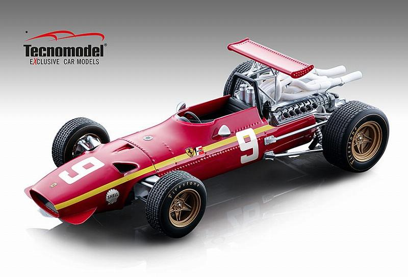 Ferrari 312 F1/68 #9 GP Germany 1968 Jacky Ickx by tecnomodel