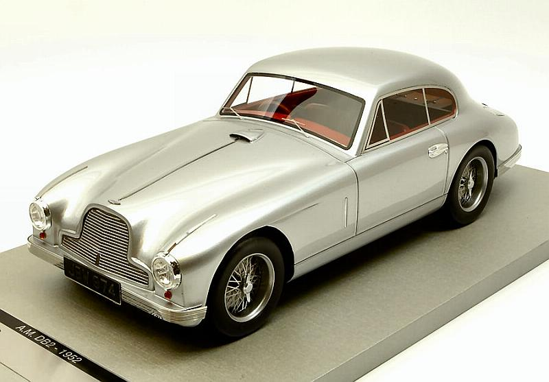 Aston Martin DB2 Coupe 1950 (Silver) by tecnomodel