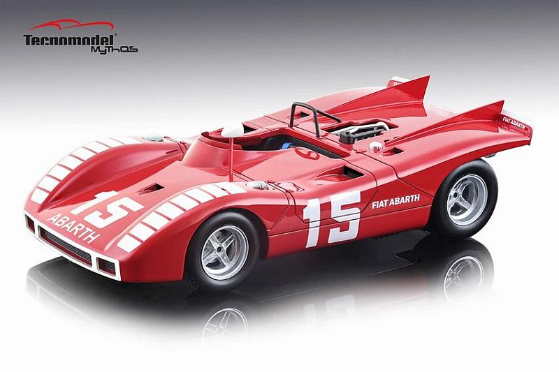 Abarth 2000 SP #15 Nurburgring 1970 K.Ahrens Jr. by tecnomodel