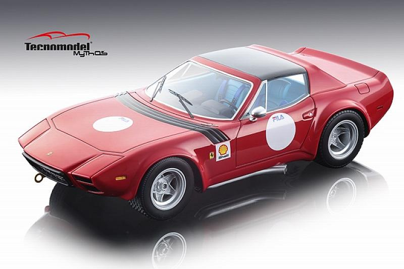 Ferrari GTB/4 Michelotti Press Version (Red) by tecnomodel