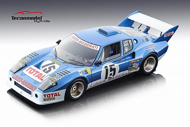 Ligier Js2 N.15 8th Lm 1974 J.laffite-a.serpaggi 1:18 by tecnomodel