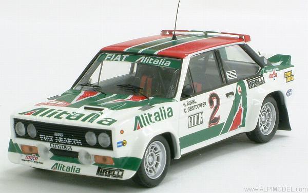 Trofeu Fiat 131 Abarth Alitalia Rally Monte Carlo 1978