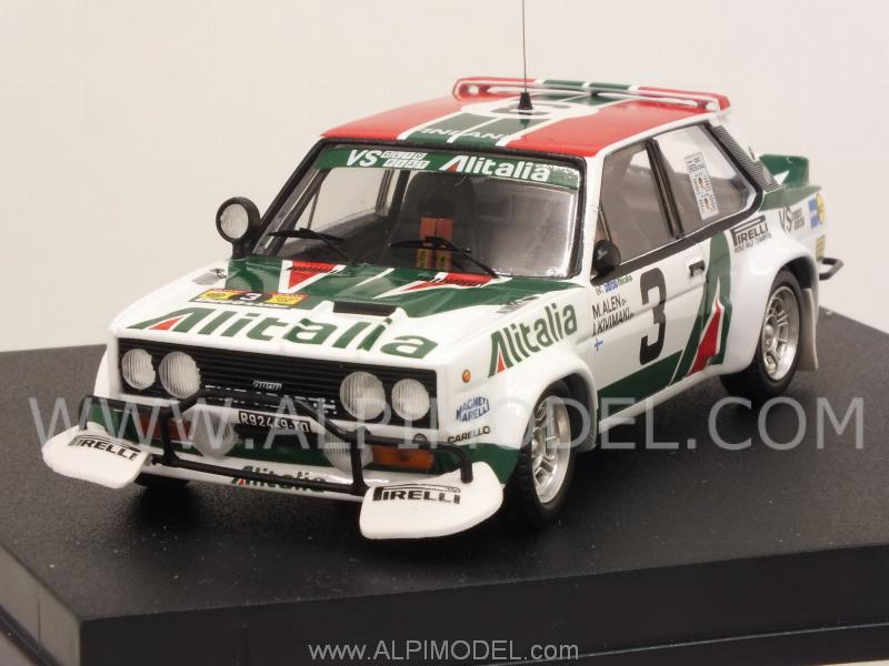 Trofeu Fiat 131 Abarth Alitalia 3 Rally Safari 1979 Alen
