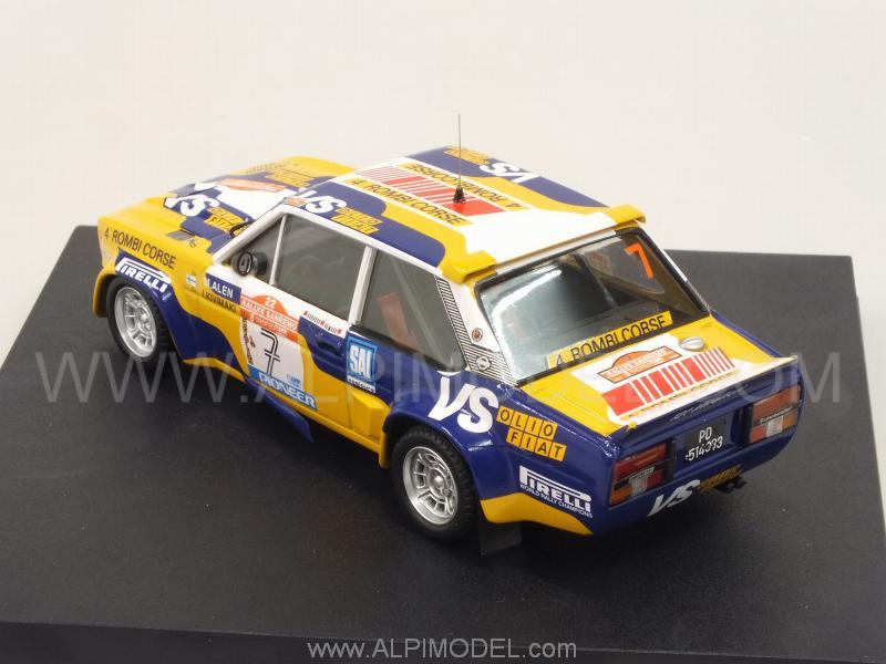 Trofeu Fiat 131 Abarth 7 Rally Sanremo 1980 Alen