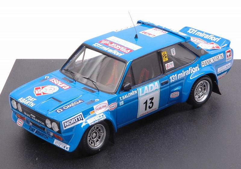 Fiat 131 Abarth #13 Rally 1000 Lakes 1977 Salonen - Markkula by trofeu