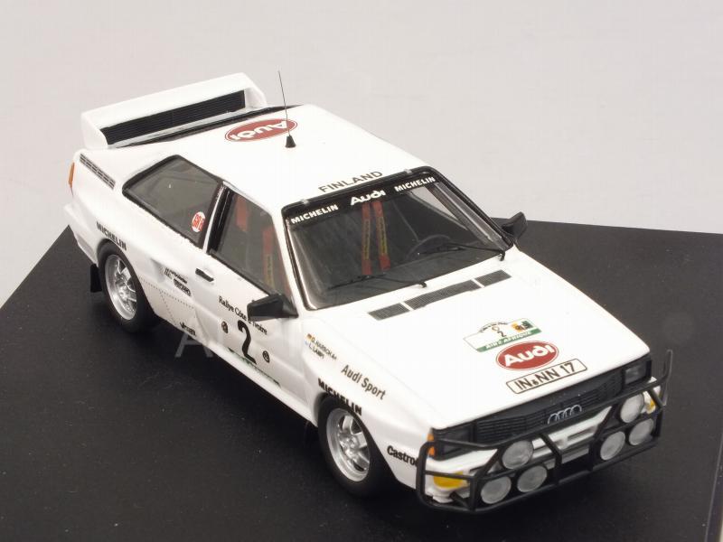 1:43 Trofeu 1627 Lampi // Harsch Rallye Bandama 1983 Audi Quattro A2