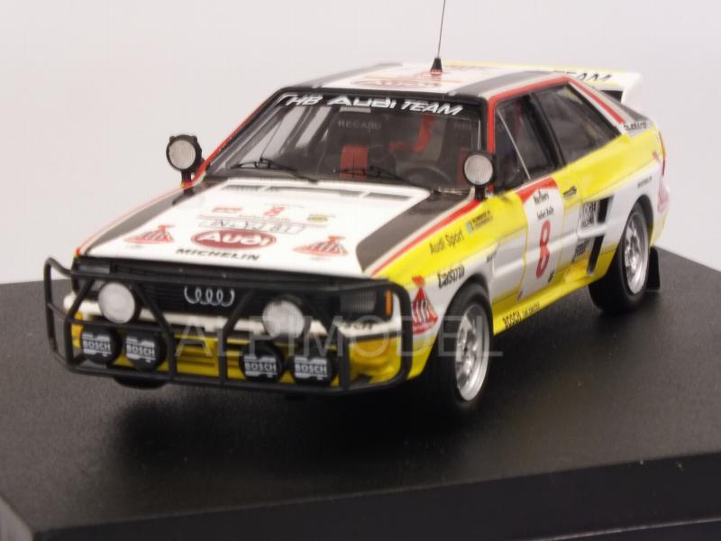 Audi Quattro  Safari Rallye 1984  Franz Wurz  Piz Buin  1:43  Trofeu Scala43 NEU
