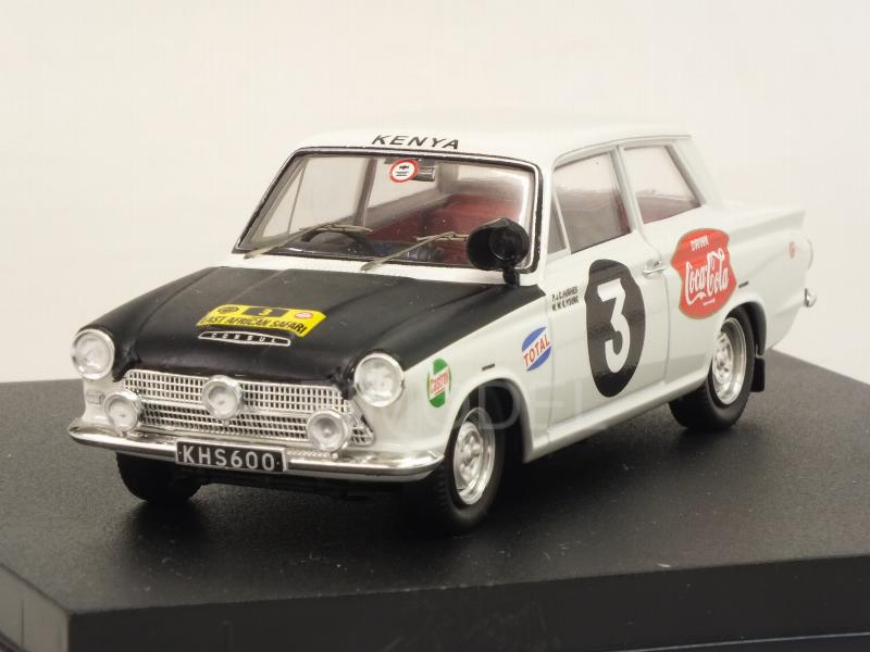 Ford Cortina Mk1 #3 Winner East African Safari 1964 Huges - Young by trofeu
